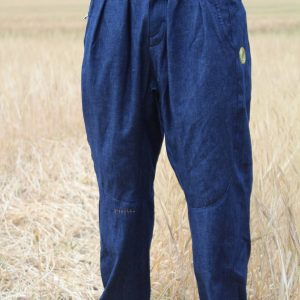drop crotch baggy denim pants